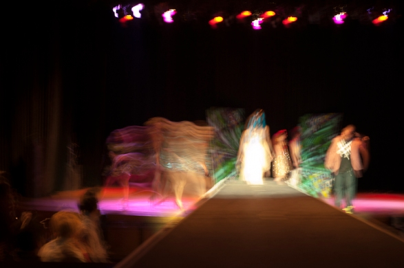 Sept. 29, 2011 -  The  Green Runway show at the Boulder Theater  in Boulder, Colorado. Photo by Caroline Treadway.