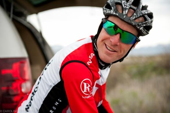 April 27, 2011 - Levi Leiphiemer at a time trial race outside Salt lake CIty, Utah.